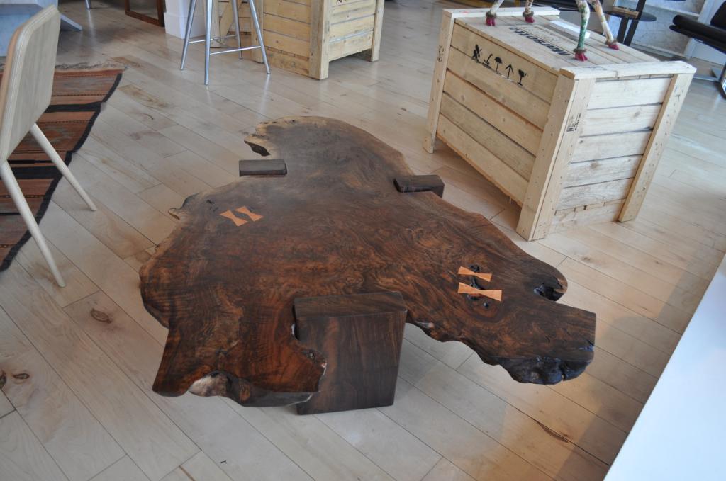 Walnut Slab Table Siglo Moderno