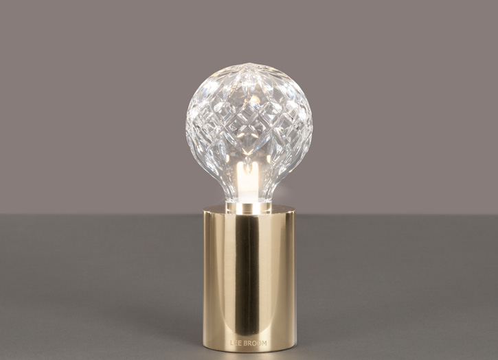 Clear crystal bulb table lamp siglo moderno clear crystal bulb table lamp aloadofball Gallery