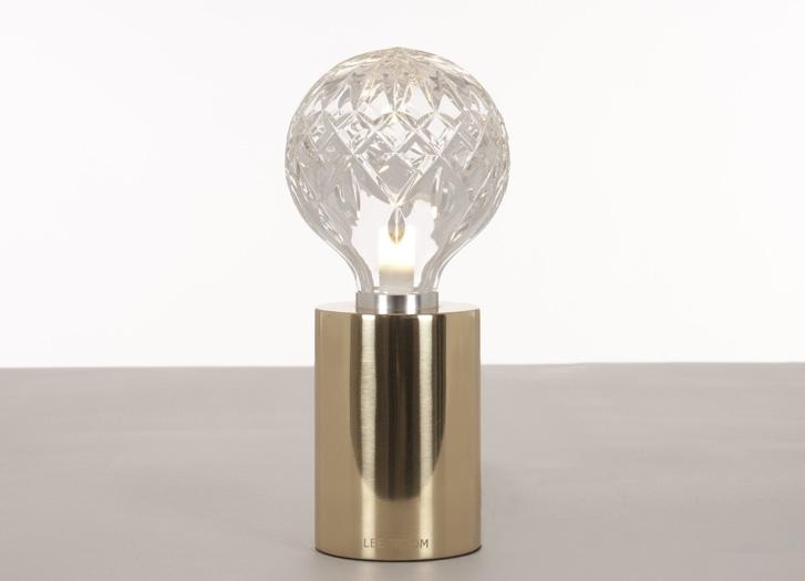 Clear Crystal Bulb Table Lamp Siglo Moderno