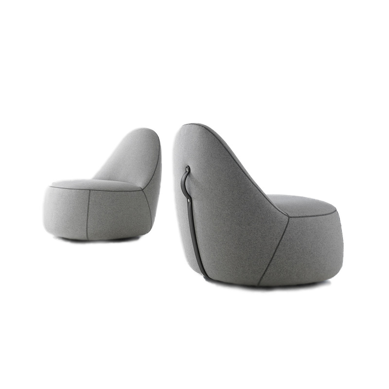 Mitt Lounge Chair Siglo Moderno